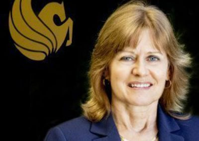 Carol Ann Dykes Logue of  UCF Business Incubator/Central Florida Research Park